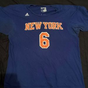 Kristaps Porzingis New York Knicks T-Shirt